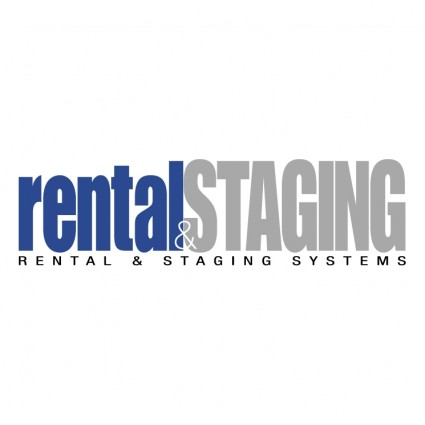rental staging systems logo