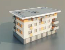 Residential buildings / Architectural Model-46 3D Model