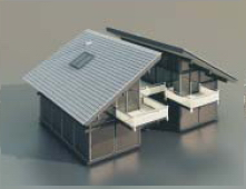 Residential with personality / Architectural Model- 45 3D Model