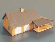 Residentials / Architectural Model10 3D Model