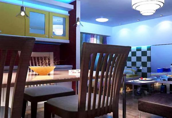 Restaurant 3 3D Model
