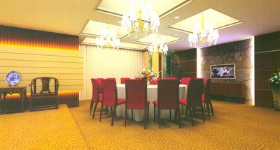 Restaurant Design_Chineseness Room 3D Model