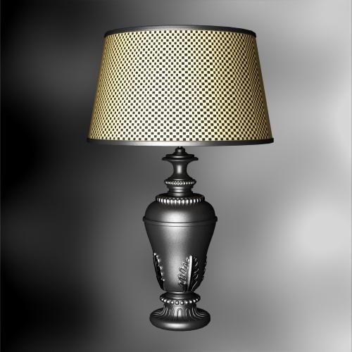 Rural style grid lamp cap lamp 3D models