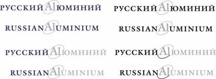 russian aluminium logo