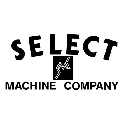 select machine company logo