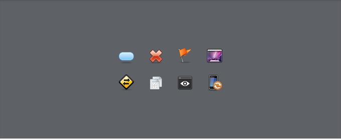 Sexy Icon Set PSD