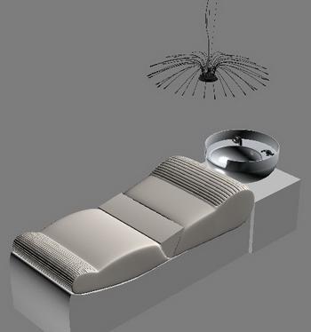 Shampoo shower model 3D Model