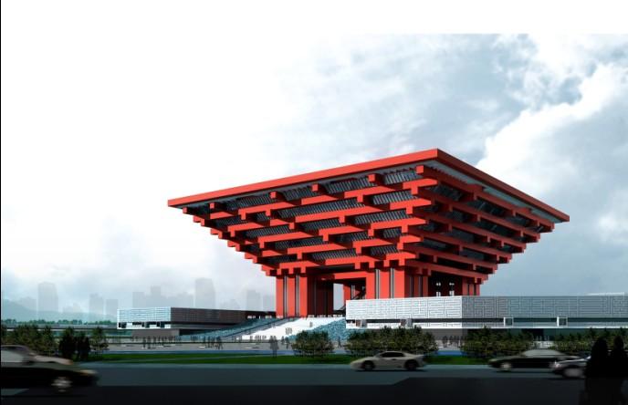 Shanghai Expo Pavilion: China Pavilion 3D Model