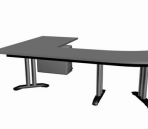 Simple and practical model of the table 3D Model