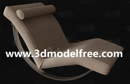 Simple chaise lounge 3D Model