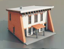 simple houses / Architectural Mode-31 3D Model