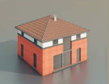 simple houses / Architectural Model-40 3D Model