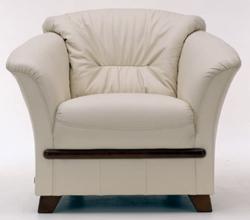 Single 3D model of sofa back (including materials)