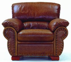 Single cowhide boss chair 3D models