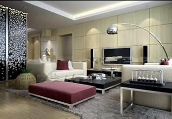 Small modern minimalist living room 3D Model
