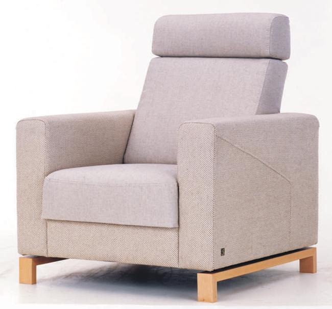 Smocks leisure single person sofa 3D models