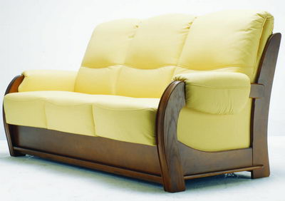 Sofa 3D Model of gold more than soft