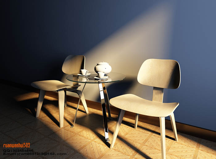 Sofa and Chairs Models 3D Model