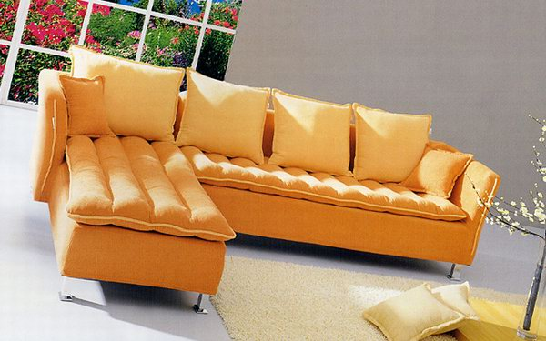 Sofa Combination_ textile cover 3D Model