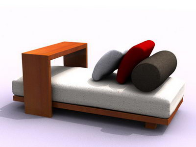 Sofas 3D character models (including materials)