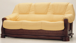 Solid wood base multiplayer cloth art sofa 3D models (including material)