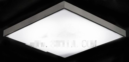 Square Crystal Ceiling Lamp 3D Model