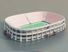 Stadium /Soccer Stadium/ Architectural Model-51 3D Model