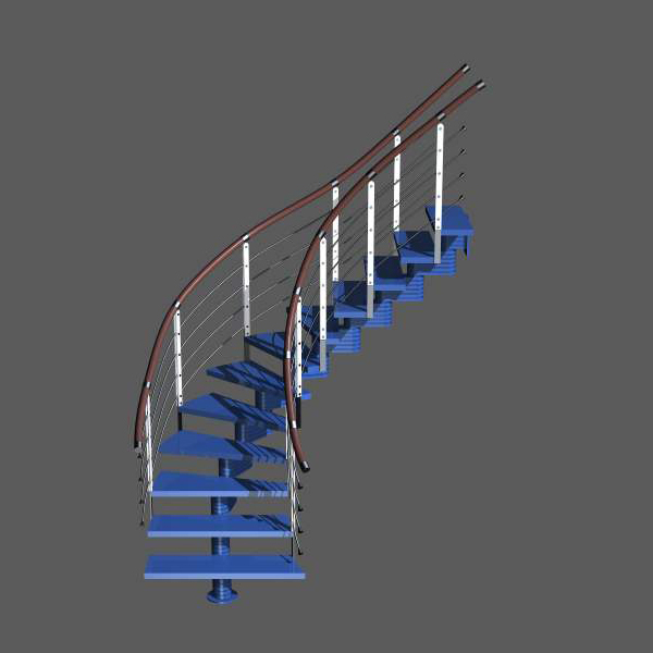 Staircases 22 3D Model