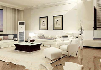 Stylish and fancy living room 3D Model
