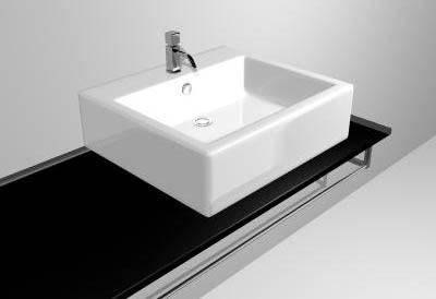 Supplies bathroom / toilet / wash tank 3D Model