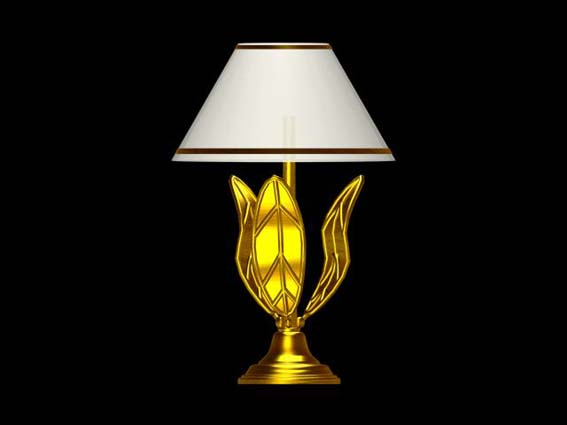 table lamp 001 3D Model