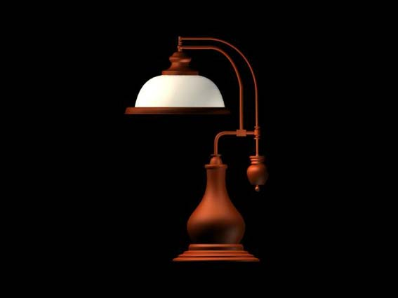 table lamp 004 3D Model