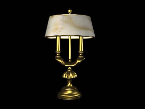 table lamp 006 3D Model
