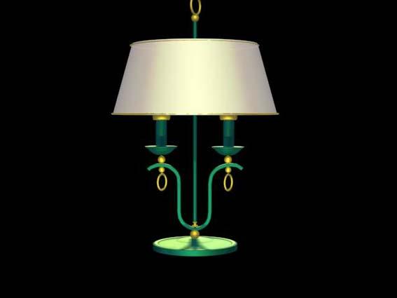 table lamp 009 3D Model