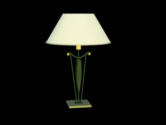 table lamp 010 3D Model