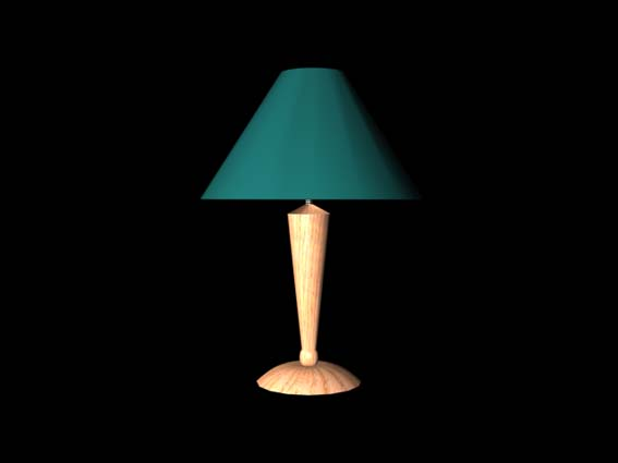 table lamp 012 3D Model