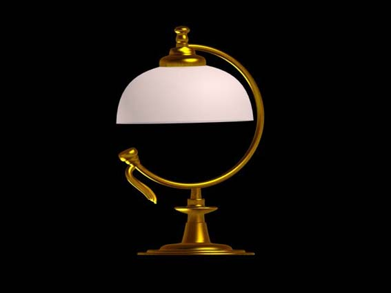 table lamp 015 3D Model