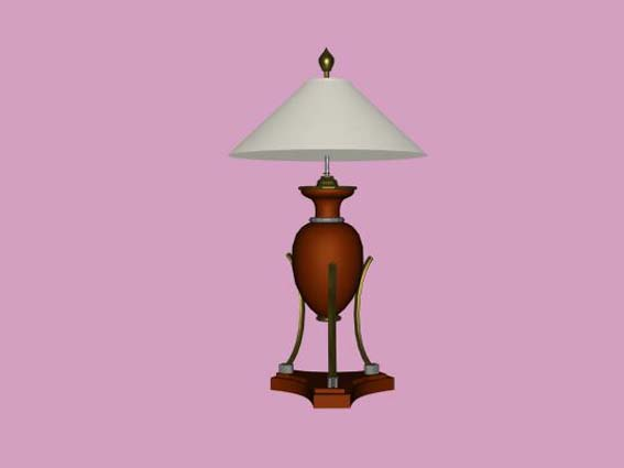table lamp 017 3D Model