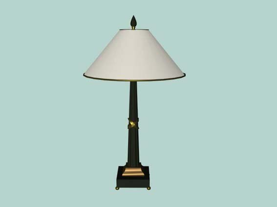 table lamp 018 3D Model