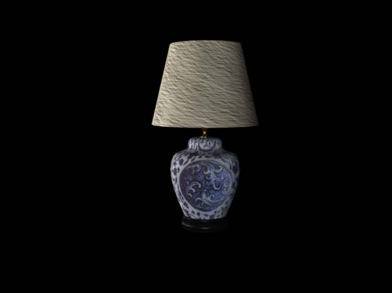 table lamp 024 3D Model