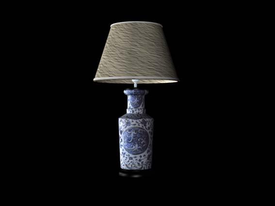 table lamp 025 3D Model