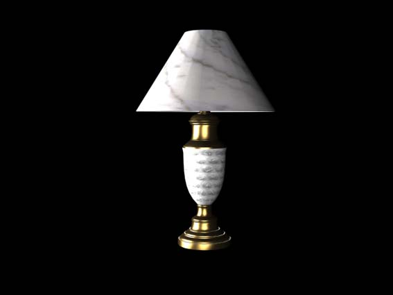 table lamp 027 3D Model