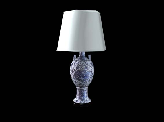 table lamp 030 3D Model