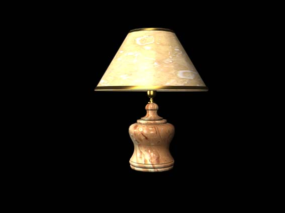 table lamp 031 3D Model