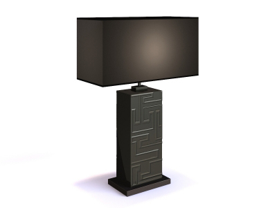 Table lamp 3D Model of 3