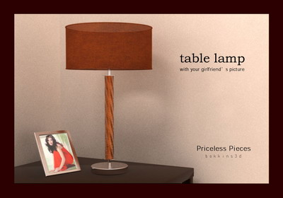 table lamps 033 3D Model