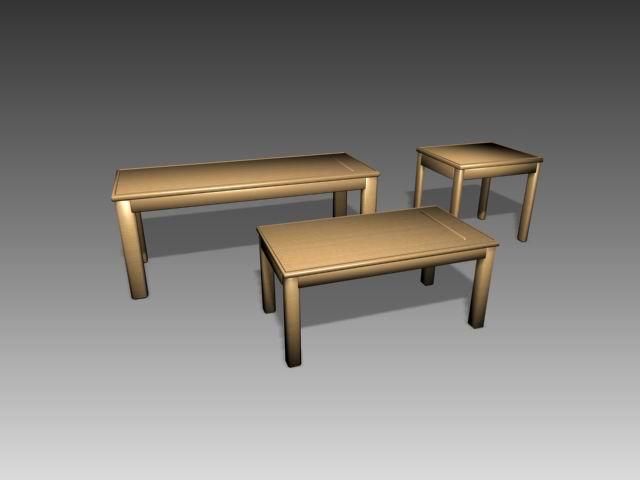 Tables a001 3D Model