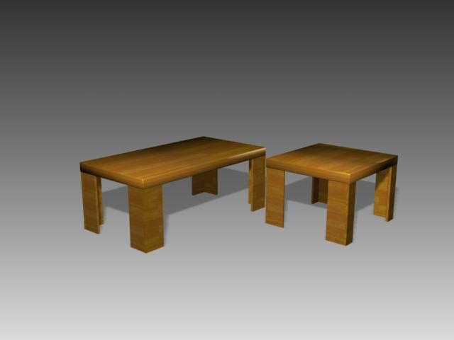 Tables a003 3D Model