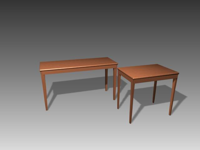Tables a004 3D Model