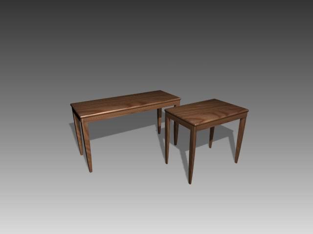 Tables a019 3D Model
